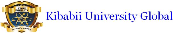 Kibabii University Global